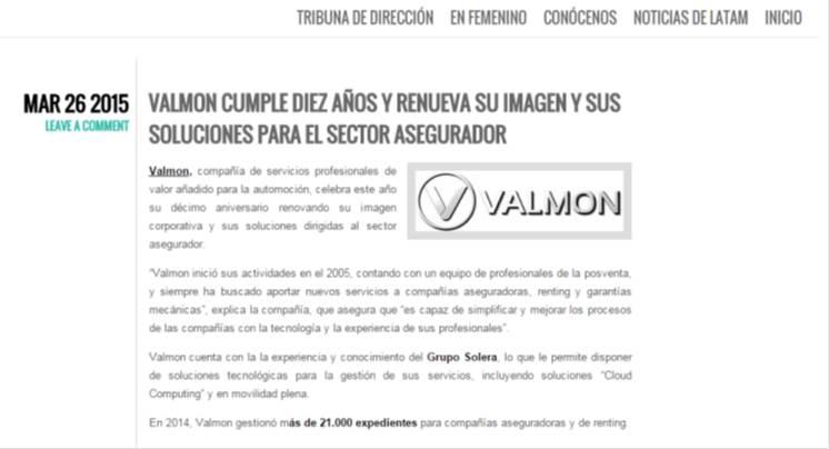 MEDIOS VALMON